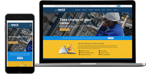 NACE International has launched new website
