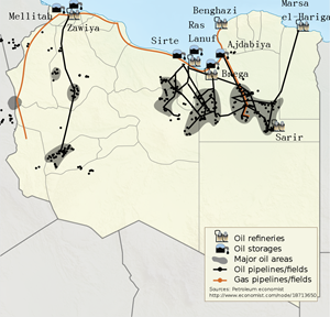 As conflict escalates in Libya, so do global oil prices
