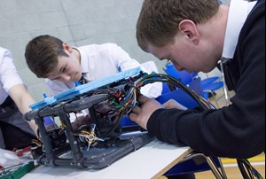 STEM students compete in ROV competition at Robert Gordon University