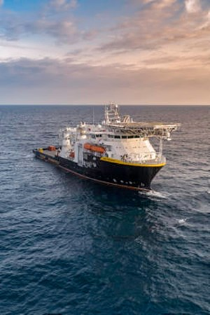 Oceaneering takes delivery of the Ocean Evolution