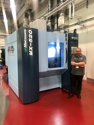 AFRC partners with Matsuura to accelerate the use of innovative machine tool technology across Scotland