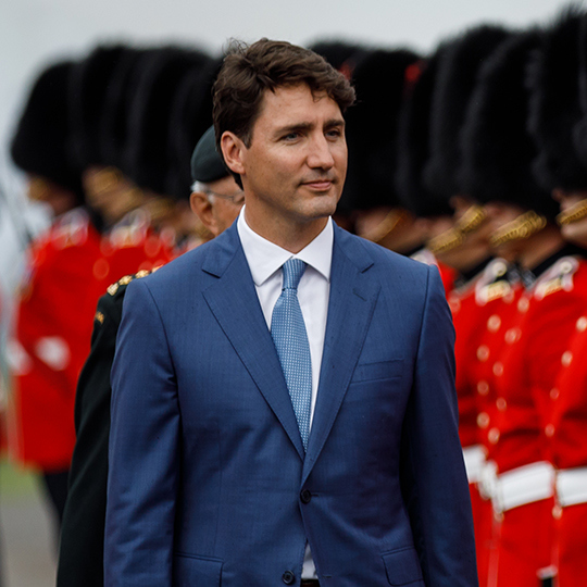 Justin Trudeau Prime Minister Of Canada Poses For A: Trudeau's Pipeline Expansion Gets Boost From Court Ruling