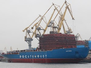 Russia's new icebreakers carve path for oil and gas shipping