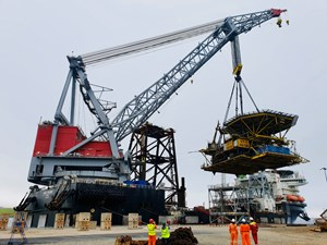 Decommissioning in Shetland expands with the arrival of more North Sea structures