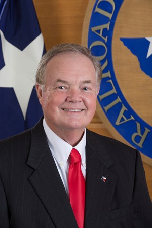Wayne Christian, Chairman, Railroad Commission of Texas