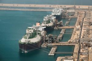 Terminal ekspor LNG, Timur Tengah