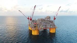 Рис. 3. На примере платформы Shell Appomattox, запущенной в эксплуатацию в 2019 году, глубоководные проекты по-прежнему составляют львиную долю работ по разработке в Мексиканском заливе. Изображение: Shell.