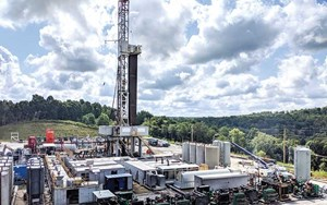 Рис. 5. Хотя сланцевая активность Marcellus на северо-востоке снизилась, она не упала так далеко, как некоторые другие сланцевые месторождения США, благодаря своей газовой природе. Изображение: CNX Resources Corporation.