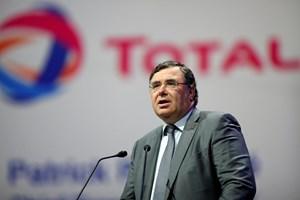 Total CEO Patrick Pouyanne