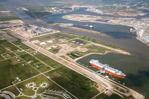 Fig. 2. The Freeport LNG terminal in Freeport, Texas, began operations in December 2019 and delivered its 100th load in early November 2020. Image: Freeport LNG Development LP.