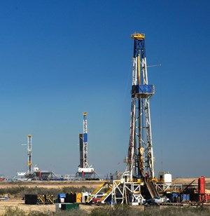 Thirty-seven rigs have operated consistently in the Haynesville-Bossier for much of October and November. Image: Comstock Resources, Inc.