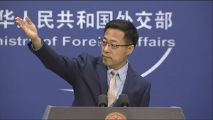 China Foreign Ministry spokesman Zhao Lijian