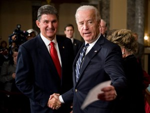 Senator Joe Manchin (D), from the coal-mining state of West Virginia, now leads the House Energy and Natural Resources Committee under Biden.