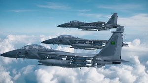 Aviones de combate de la Real Fuerza Aérea Saudita