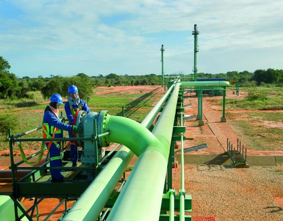 Sasol obtiene $ 361 millones en la venta de participación en el oleoducto de Mozambique