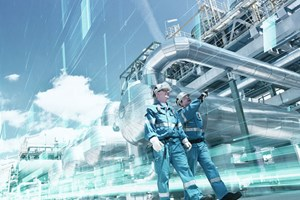 Fig. 3. Schlumberger experts work closely with clients to help sustain, refine, and tune the solutions supporting global operations. Image: Schlumberger.