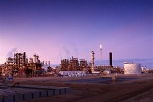 Nexen oil sands facility, western Canada
