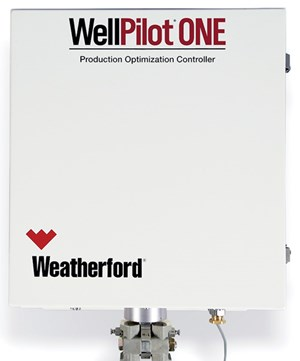 Fig. 9. The WellPilot ONE rod pump controller enables integrated, full-field asset monitoring and optimization for the life of the asset, using a single piece of hardware that centralizes the management of all oilfield equipment.