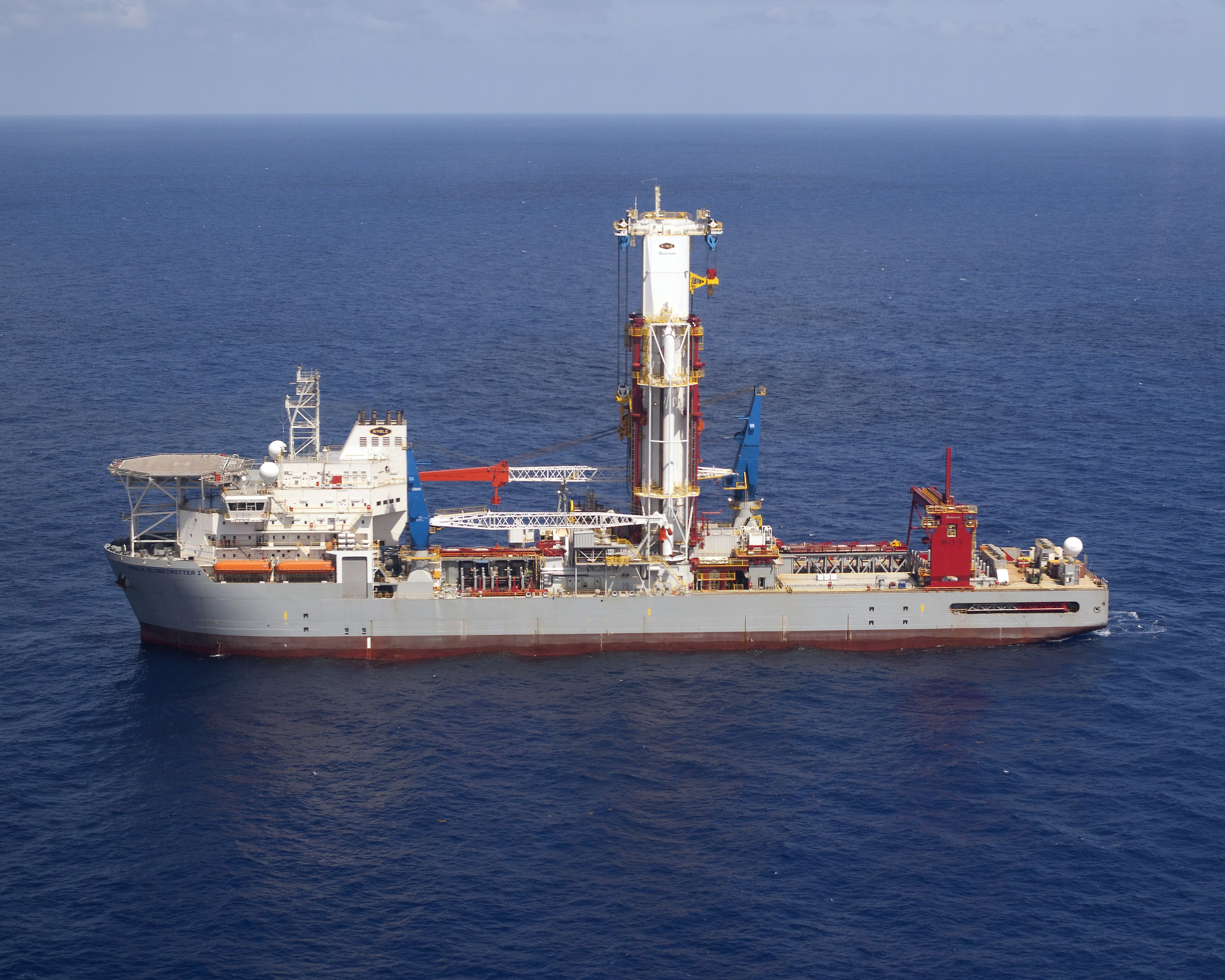 GE, Noble Corp  launch world's first digital drilling vessel