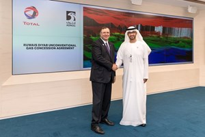 ADNOC signs agreement granting Total a 40% stake in unconventional gas concession