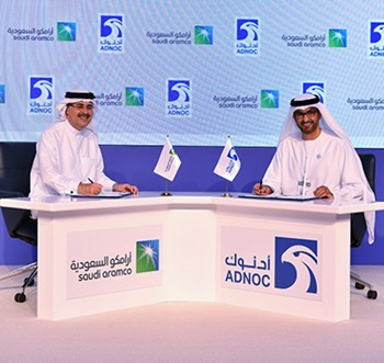 ADNOC and Saudi Aramco sign natural gas and LNG agreement