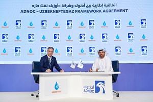 ADNOC signs framework agreement with Uzbekistan gas producer Uzbekneftegaz