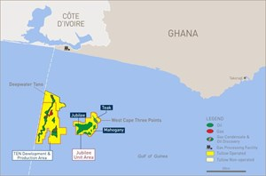 Tullow has published it trading statement and operational update