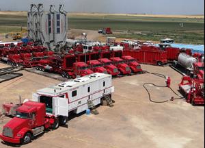 Halliburton feels U.S. fracing slowdown more acutely